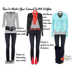 """how to make your casual outfit stylish"" by imogenl on Polyvore"