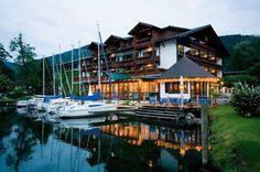 Kulinarik Tipp: In der Marina am Millstätter See | Kärnten Blog Hotels, Cabin, Mansions, House Styles, Blog, Home Decor, Road Trip Destinations, Vacations, Architecture