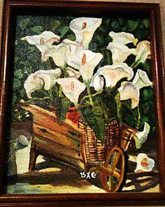 Por si crees que no te escucho Óleo sobre tela  #Paint #Painter #Cuadro #Art #Arte #Artist #Artista #Obradearte #Oleo #Mexico #Alcatraz #Flor #Flower