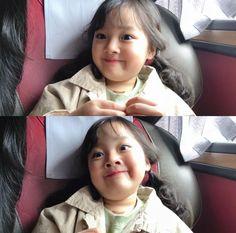 Korean Face, Cute Korean, Yuri Wallpaper, Close Up, Baby Faces, Kwon Yuri, Korean Babies, My Baby Girl, Ulzzang