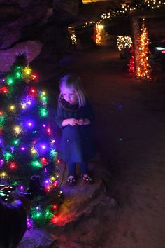 Explore #ChristmasUnderground for a little bit of #HolidayMagic! #RubyFalls