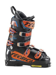 TECNICA - racing Ski boots R 150, size UK 6 The R 150 ski boot has won downhill races and technical events, emerging as one of the most versatile boots in the world cup.R150 has a fluid and progressive flex, for the best hold on the groomed.93 mm of internal width for the most advanced athletes.   https://nemb.ly/p/Sk5kuh_vM Published using Nembol