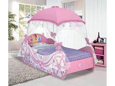 Cama castillo de princesas infantiles pinterest - Cama princesa nina ...