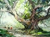 Image result for tony xu watercolor