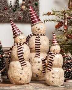 """13"""" Party Snowman"""