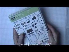 Stampin Up Jar of Love Birthday Card - YouTube