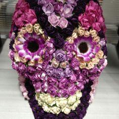 Skull flower arrangement :)