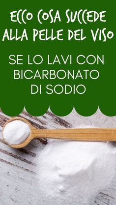 #bicarbonato Face Care, Body Care, Skin Care, Blonder Bob, Beauty Case, Green Life, Natural Medicine, Beauty And The Beast, The Cure