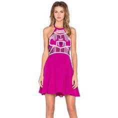 NBD x Naven gemelos Glamour Girl Dress del patinador