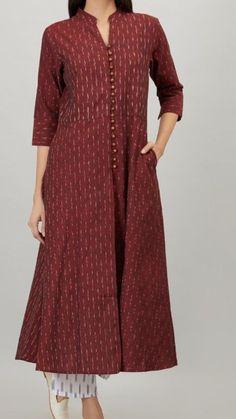 Blouse Designs Silk, Dress Neck Designs, Stylish Dress Designs, Designs For Dresses, Stylish Dresses, Simple Kurti Designs, Salwar Designs, Kurta Designs Women, Kurti Designs Party Wear