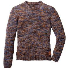 Pullover im Multicolor-Design - Trendy Pullover in Orange von John Baner JEANSWEAR. Der Pullover im Multicolor-Design lässt sich vielseitig kombinieren und wirkt besonders stylisch. - ab 24,99 €