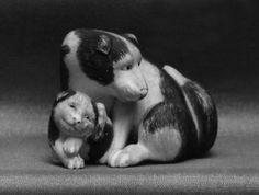 Netsuke of Dogs Date: 19th century Culture: Japan Medium: Ivory