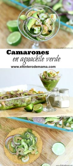 aguachile recipe shrimp with mango Camarones Aguachile Recipe, Aguachile Verde, Shrimp Recipes, Mexican Food Recipes, Mexican Meals, Mexican Dishes, Mexican Seafood, Verde Recipe, Recipe Box