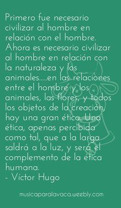 #VíctorHugo #Naturaleza #Ética