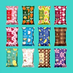 How to bring Japanese design into your creative work - Food: Veggie tables Food Packaging Design, Cute Packaging, Packaging Design Inspiration, Branding Design, Logo Design, Design Design, Cereal Packaging, Biscuits Packaging, Chocolate Packaging