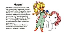 My Little Pony Megan and Sundance fact file ...