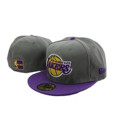 timeless design 2e22a 01543 New Era NBA Los Angeles Lakers 59FIFTY Fitted Cap http
