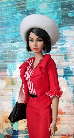 POPPY PARKER Girl From Integrity\ suit Silkstone Barbie Doll Gal on the Go | Flickr - Photo Sharing!