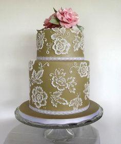 Coffee & White Wedding Cake & Pink Sugar Roses :) x - Cake by Storyteller Cakes Creative Wedding Cakes, Cool Wedding Cakes, Beautiful Wedding Cakes, Gorgeous Cakes, Wedding Cake Designs, Wedding Cake Toppers, Creative Cakes, Amazing Cakes, Wedding Ideas