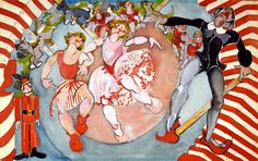 Puppeufee (The Circus) - Zelda: An Illustrated Life (The Private World of Zelda Fitzgerald)
