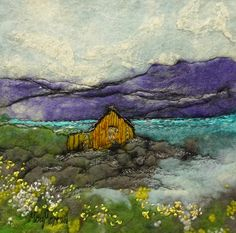 Boat Shed, Norway by Moy Mackay