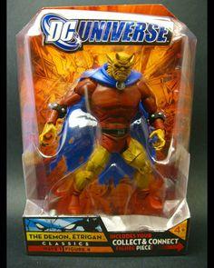 #DC #Universe #Classics #Etrigan #Mattel #actionfigures #action #figures #figuras #ação #heróis #Heroes #comics #Quadrinhos #Justice #League #Dark #Jason #Blood #Jack #Kirby