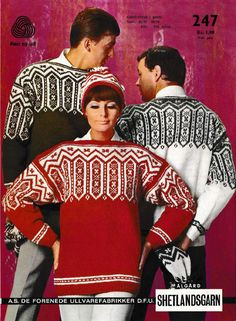 247 Intarsia Patterns, Vintage Knitting, Hobbies And Crafts, Knits, Christmas Sweaters, Detail, Crochet, Creative, Men