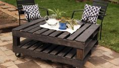 20 Great DIY Furniture Ideas with Wood Pallets →