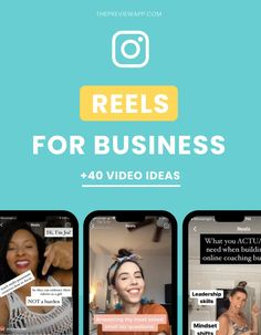Instagram Reel ideas for Business (48 awesome video ideas) Social Media Content, Social Media Tips, Social Media Marketing, Business Marketing, Digital Marketing, Bio Instagram, Latest Instagram, Destiny's Child, Instagram Marketing Tips