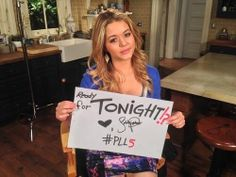 Yay PLL is back on tonight sooo excited.