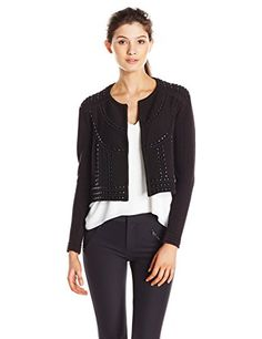 http://www.athenefashion.com/women/rebecca-minkoff-womens-nico-studded-sweater-jacket/ cool Rebecca Minkoff Women's Nico Studded Sweater Jacket