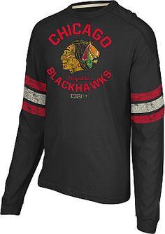 CCM Chicago Blackhawks Long Sleeve Crew - Shop.NHL.com