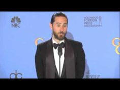 Jared Leto after Golden Globe win for 'Dallas Buyers Club'