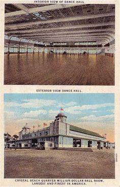 Crystal Beach Ballroom by Karl R. Wonderful Places, Great Places, Fort Erie, Buffalo New York, Dance Hall, Amusement Park, Vintage Postcards, Niagara Falls, Maryland