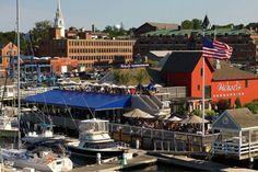 Michael's Harborside, Newburyport MA One of the Best Seafood restaurants in the New England Area