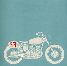 Motorcycle Art, Bike Art, Mt Bike, Branding Design, Logo Design, Drawing Machine, Cafe Racer Style, Mechanical Art, Ex Machina