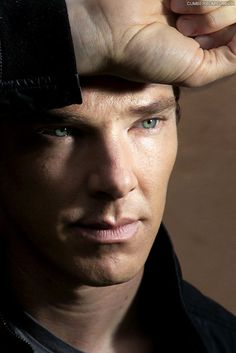 Benedict Cumberbatch - positive I've pinned this before, but DAMN look at those eyes!