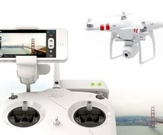 DJI's latest Phantom drone beams aerial footage to your phone