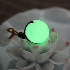 Glow in the Dark Calcite Crystal Pendant