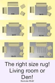 Rug Guide: A Room-by-Room Guide to Rug Sizes – One Kings Lane ...