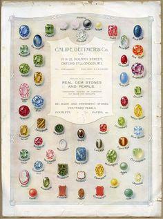 gem stones pearls