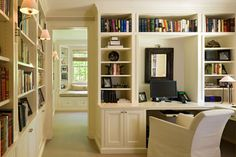 Traditional Home Design, Pictures, Remodel, Decor and Ideas - page 149  Love the style of this office space and reading nook!