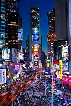 Amazing Places — Times Square - New York City - New York - USA (von...