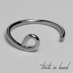 """10kt Solid Gold Snake Bite Lip Ring Hoop, Gold Lip Cuff, Faux Lip Ring 8mm 5/16"""" or 10mm 3/16"""", White Gold, 1 piece. This is a solid 10k gold lip ring. No piercing is required to wear this faux lip ring. Please select the 8mm or 10mm inner diameter of your choice. Detailed Description 10k Solid White Gold Snake Bite Lip Ring Metal: Solid Gold Karat/purity: 10k Size: 8mm or 10mm Gauge/Thickness: 20 gauge (please contact me for a different gauge) Style: Faux Lip Ring ."""