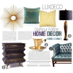 """Luxdeco - PERFECTION"" by black-rose-oara on Polyvore"