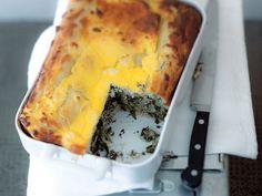 Pitta mit Spinat und Schafskäse   Zeit: 45 Min.   http://eatsmarter.de/rezepte/pitta-mit-spinat-und-schafskaese