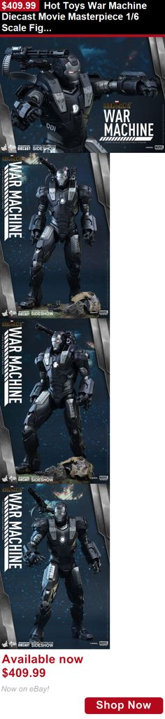 Telescope Mirrors And Prisms: Hot Toys War Machine Diecast Movie Masterpiece 1/6 Scale Figure Iron Man 2 New BUY IT NOW ONLY: $409.99
