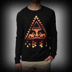 Urban Outfitters メンズ スウェット アーバンアウトフィッターズ OBEY Triangle Crewneck Sweatshirt クルーネックスウェット-アバクロ 通販 ショップ-   #ITShop