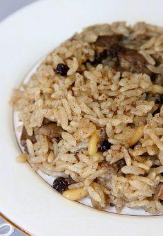 Food Middle East/North Africa - Eten Midden Oosten/Noord Afrika (Turks/pilav)