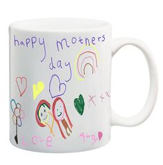 Custom Mug. Your child's art on a mug. A Special personalised gift